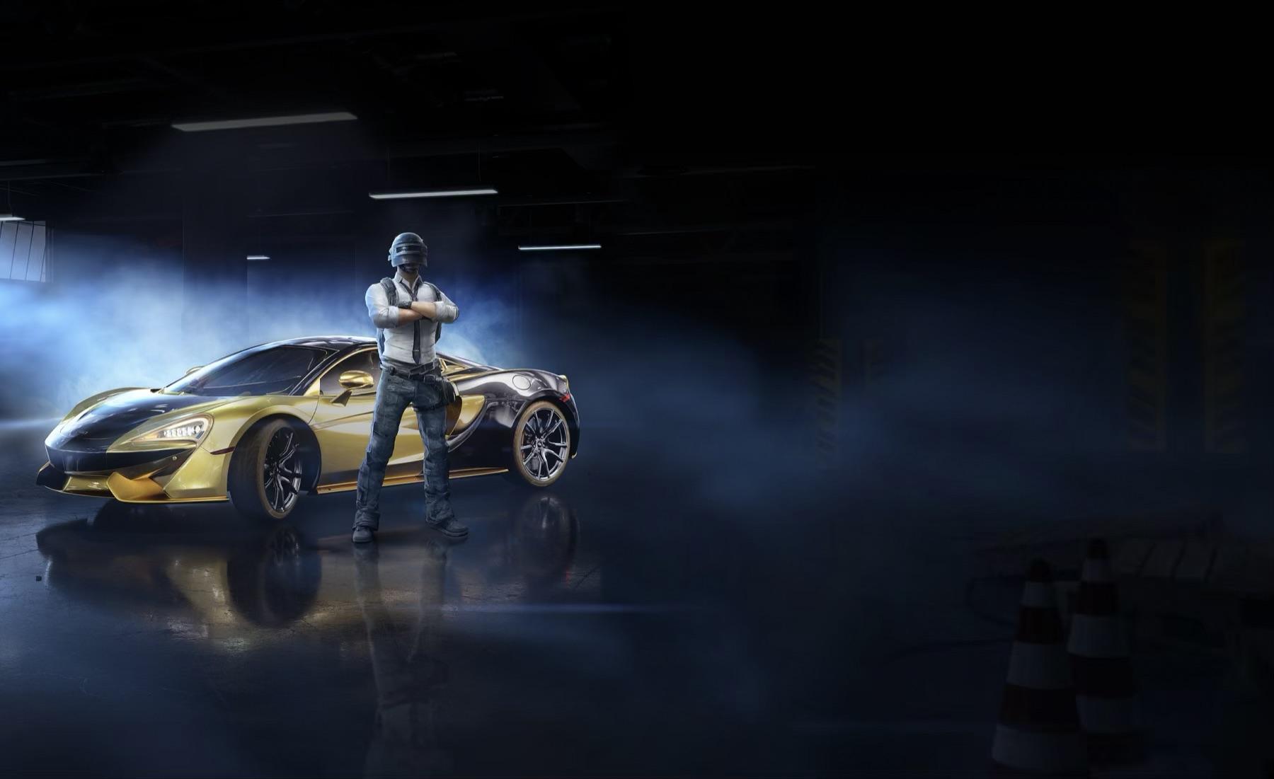 McLaren a PUBG Mobile-ban